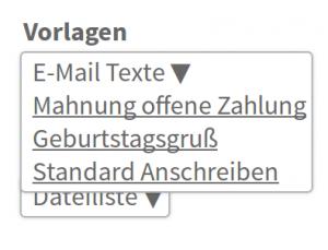 JOBTOOL.software Bewerber Email-Vorlagen