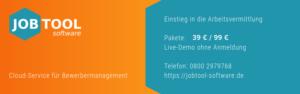 JOBTOOL.software Bewerbermanagement für Arbeitsvermittler