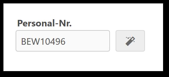Personalnummer automatisch